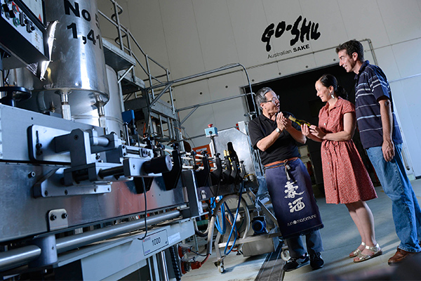 Get to know Penrith's sake brewery