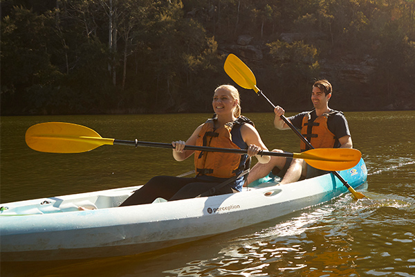 Kayaking Nepean River
