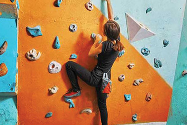 Climb into this exhilarating indoor activity