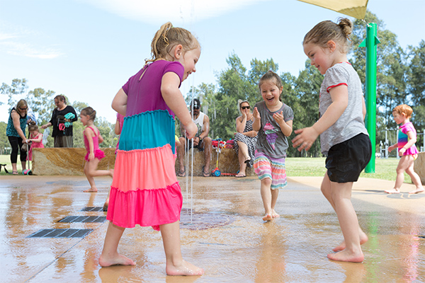 free things splash pad