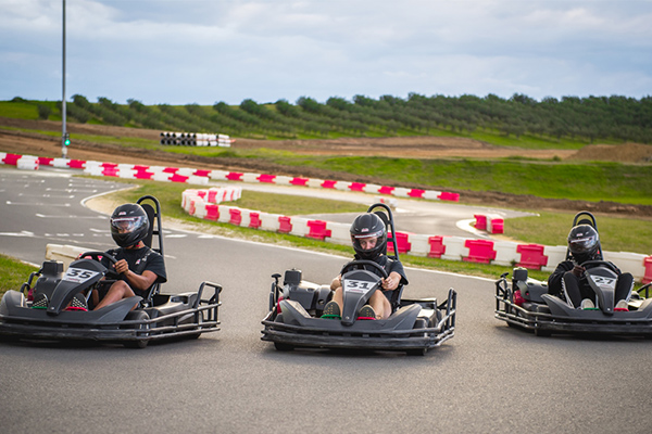 Combine paintball and go-karting for the ultimate rush