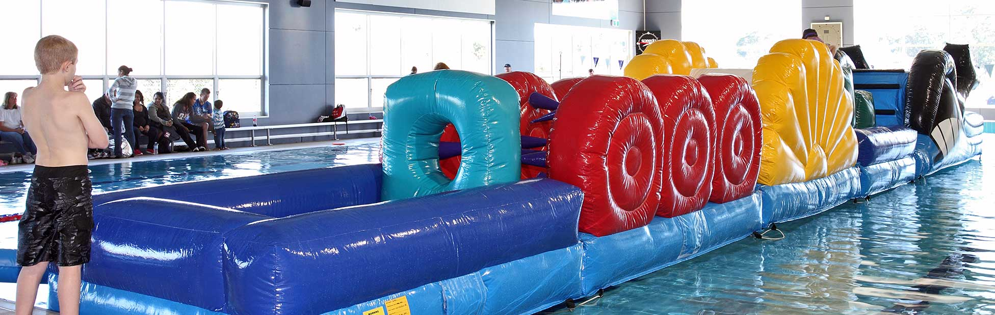 dd704d4bf1 Image of inflatables in a pool. Home · Events · Family  School Holiday Fun  Day at Nepean Aquatic Centre