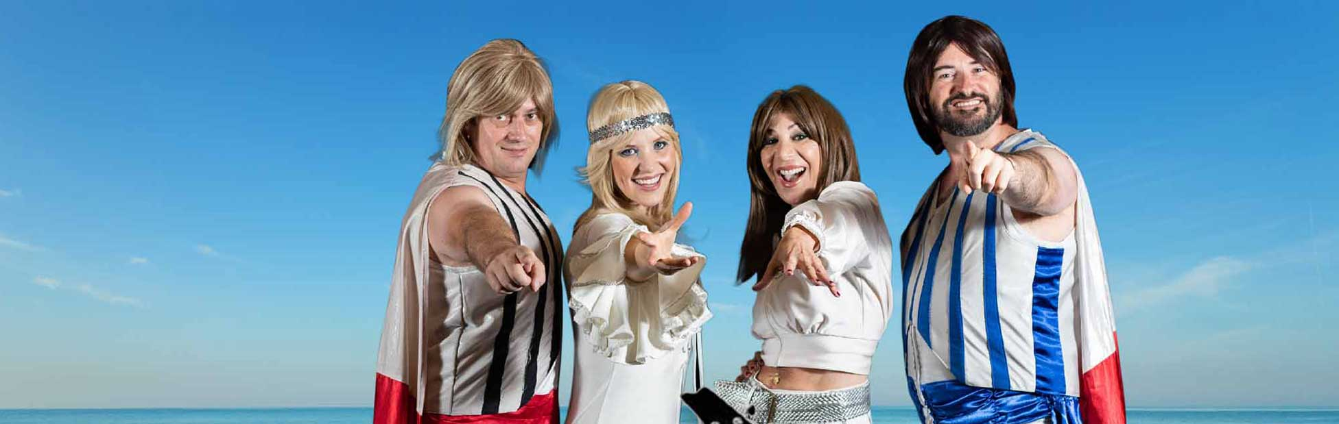 ABBA tribute performers