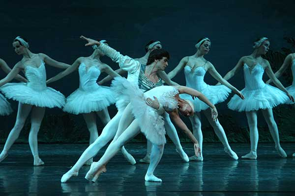 Russian Ballet dancers on stage